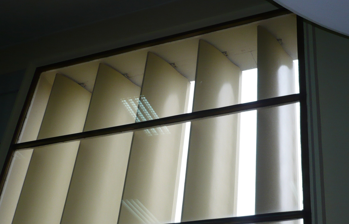 Fabricación de lamas verticales GRP en ICC Eduardo Torroja (CSIC)