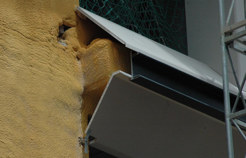 Fachada en materiales compuestos GRP, Bilbao