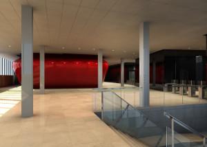Materiales compuestos GRP composites, sede Endesa Barcelona